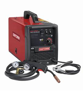 Craftsman Mig 135m Gas  Gasless Wire Feed Welder
