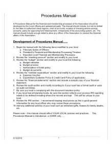 Sample Policies and Procedures Manual