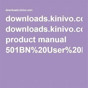 Downloads Kinivo Com Product Manual 501bn 20user 20manual