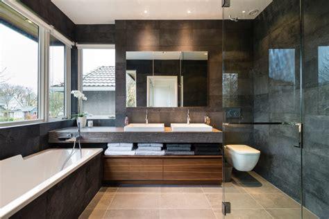 master ensuite modern bathroom  alice dandrea design modern tiles homify