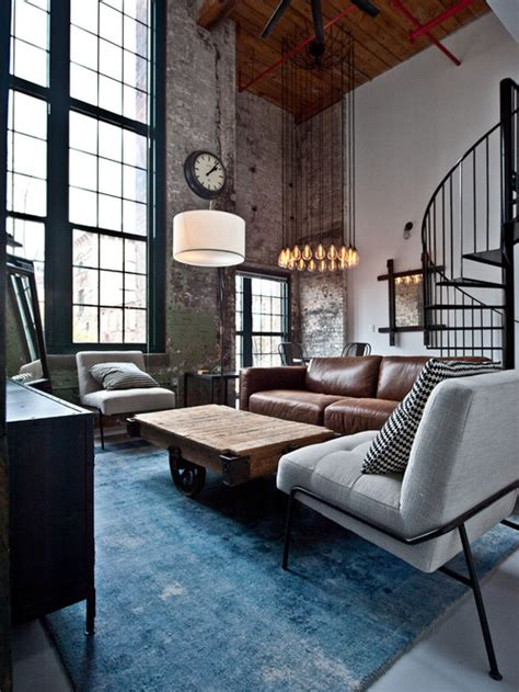 modern industrial living room ideas 31 ultimate industrial living room design ideas Modern Industrial Living Room Ideas