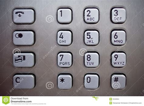 phone number pad number pad stock images image 3349964