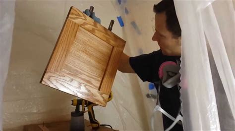 staining kitchen cabinet doors how to stain cabinet doors 5699
