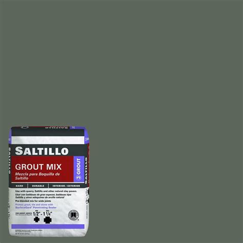 Saltillo Tile Grout Home Depot by Custom Building Products Saltillo 09 Gray 50 Lb