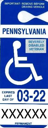 persons  disabilities placardsplates