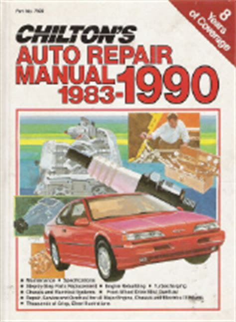 what is the best auto repair manual 1990 pontiac turbo firefly lane departure warning 1983 1990 chilton s auto repair manual