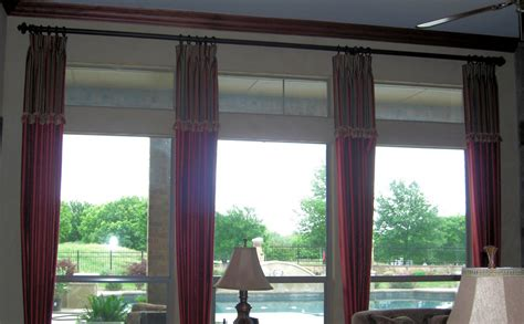 custom l shades dallas gallery for custom shades elegance in draperies