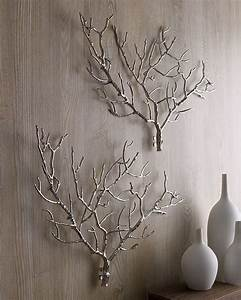 Decorar parede de forma unica embeleze suas paredes for What kind of paint to use on kitchen cabinets for metal twig wall art
