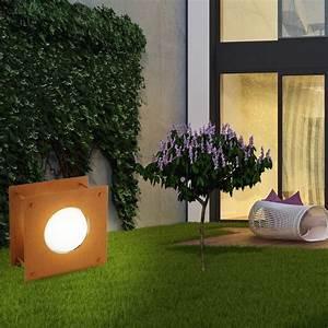 Lampen Für Terrasse : 2er set led stehlampen f r ihren au enbereich haakon1 ~ Sanjose-hotels-ca.com Haus und Dekorationen