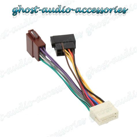 Clarion Pin Car Stereo Radio Iso Wiring Harness