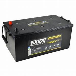 Batterie Exide Gel : exide leisure battery equipment gel es2400 low cost batteries online ~ Medecine-chirurgie-esthetiques.com Avis de Voitures