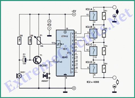 Stepped Volume Control Circuit Diagram World