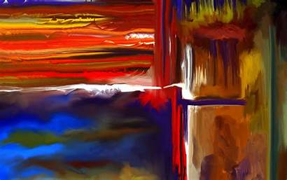 Abstract Painting Paint Wallpapers Desktop Mobile Px