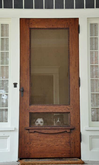 wooden screen doors back door entryway we need a new door