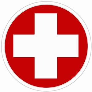Emergency clipart hospital cross - Pencil and in color ...