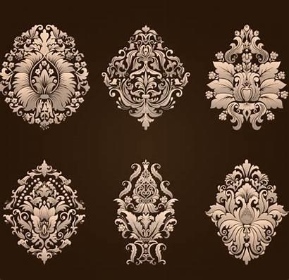 Damask Vector Ornamental Floral Elements Google