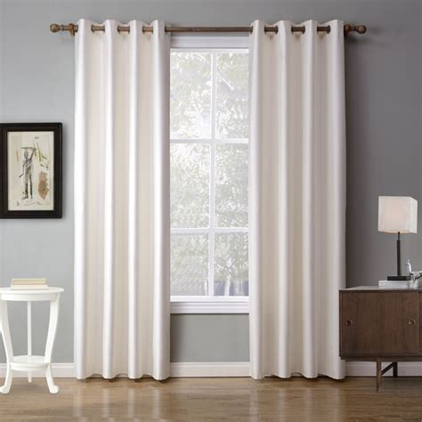 White Drapes In Living Room by Xyzls European Solid White Curtains Shade Blackout Curtain