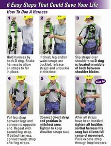Safety  Properly Adjusting Your Harness Can Make All The