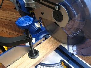 """Kobalt 10"""" Sliding Compound Miter Saw Review  One Project"""