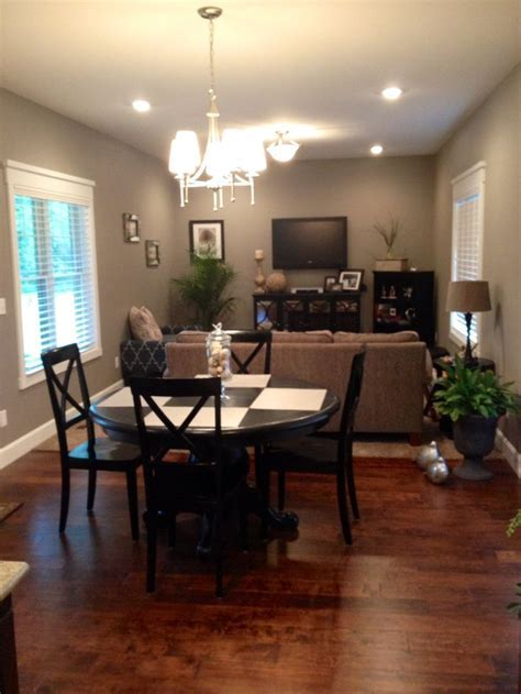 Breakfast and sitting room. Sherwin Williams pewter