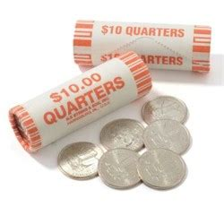 how many quarters are in a roll found 5 rupees in my 10 quarter roll