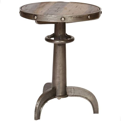 iron accent table pictured is the railway accent table which features a 1924