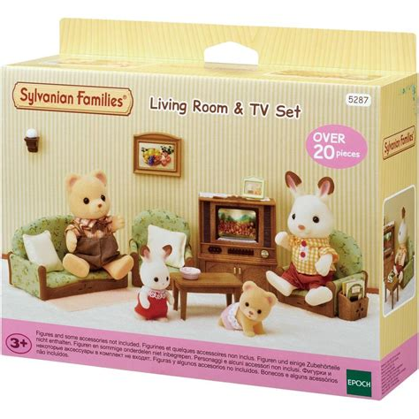 Living Room Sets Payments by Sylvanian Families Living Room Tv Set Big W