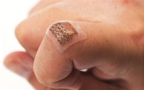 Wearable ultrasound patch tracks blood pressure | National