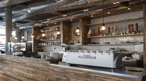 I agree that this image is for layout purposes only. small-coffee-shop-design-ideas-rustic-coffee-shop-counter ... | Rustic coffee shop, Coffee shop ...