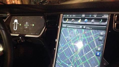 ludacris calls  tesla model  control screen ludicrous