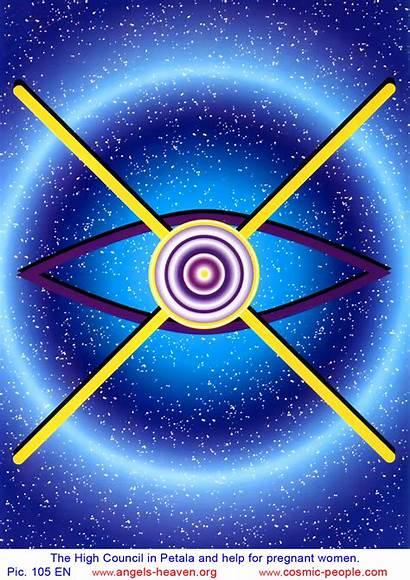 Universe Symbols Spiritual Figures Cosmic Council English
