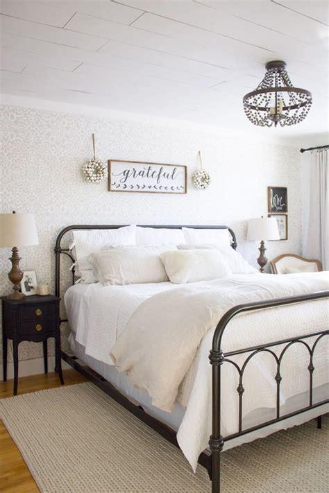 rustic farmhouse bedroom decor inspiration ideas renewed claimed path