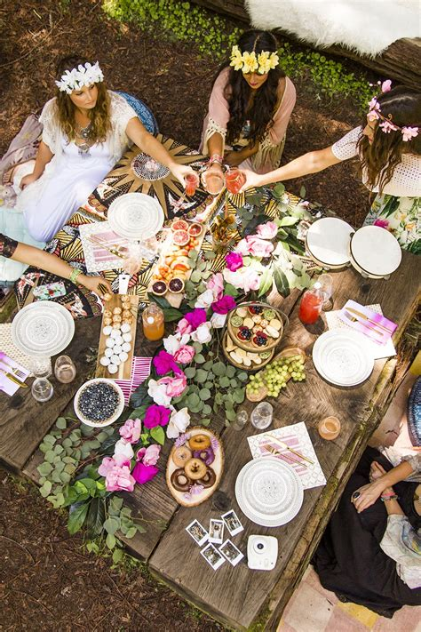 boho chic table ls 12 must haves for a picture perfect boho bridal shower