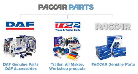 paccar truck parts about paccar parts daf corporate