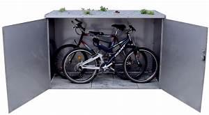 Fahrradgarage Für 4 Fahrräder : metalll fahrradgarage f r 2 fahrr der ~ Eleganceandgraceweddings.com Haus und Dekorationen