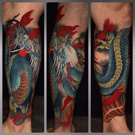 dragon tattoos ideas  leg