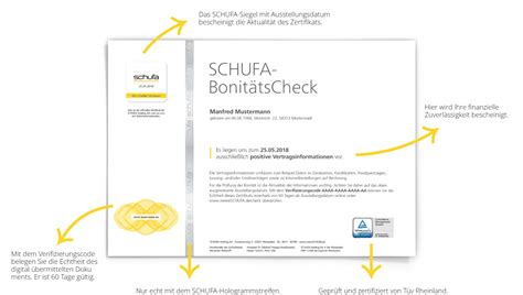 Schufa-auskunft Online Bestellen