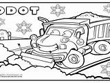 Plow Template Coloring Truck sketch template