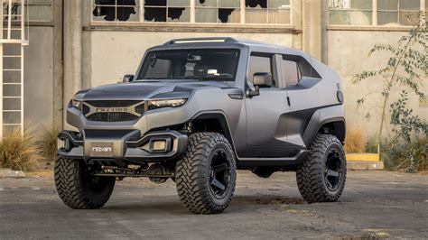 Rezvani Tank Is A Jeep Wrangler Based Off Road Menace