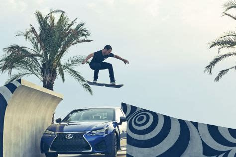 lexus hoverboard schwebendes skateboard  aktion video