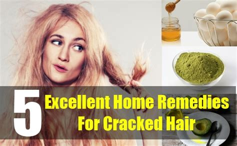5 Cracked Hair Home Remedies, Treatments And Cures
