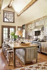 15, Stunning, Rustic, Kitchen, Design