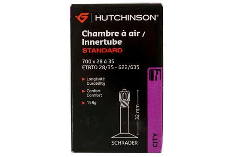 chambre a air 700x28 hutchinson inner 700x28 35 valve schrader 32mm