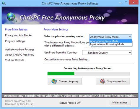 Chrispc Free Anonymous Proxy Download