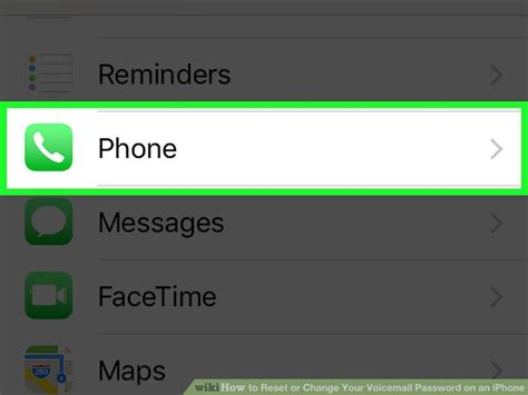 how to change voicemail message on iphone how to reset or change your voicemail password on an iphone