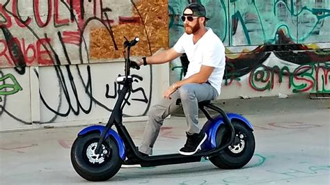 1st Gen Fat Tire Adult Electric Scooters W/seat