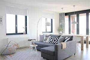 Fair Black And White Curtains House Designs Contemporary ...