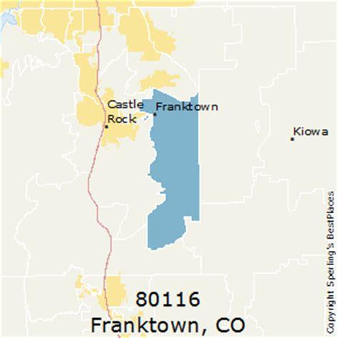 places    franktown zip  colorado