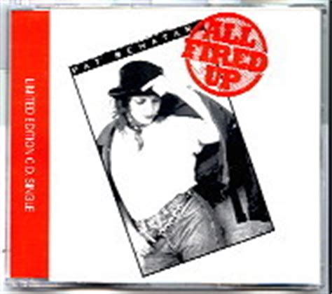 Pat Benatar Fired Up Pat Benatar Cd Single At Matt S Cd Singles