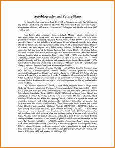 college student biography examples 12 things your boss With sample biography template for students